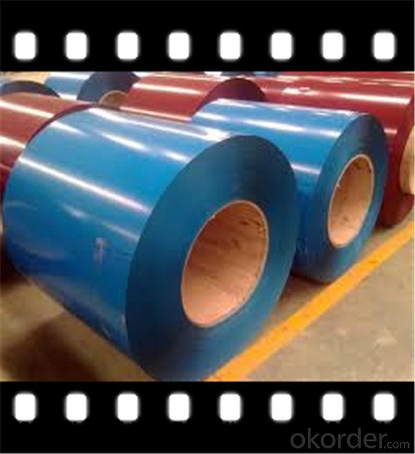 PPGI Steel Coil PPGI Steel Sheet for Building Meterials with Factory Price CNBM