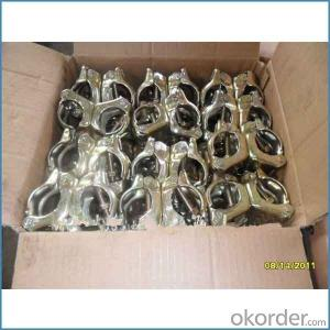 Scaffolding Pressed Swivel Coupler British Type for Sale
