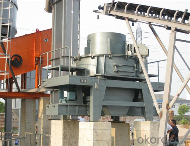 Dry Method Sand Making Plant with Stone Shaping Function