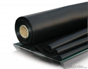 EPDM Rubber Waterproof Sheet Good Elongation for Basement