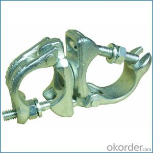 Pressed Scaffolding Double Coupler British Type for Sale