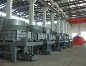 Dry Method Sand Making Plant with Stable Gradation