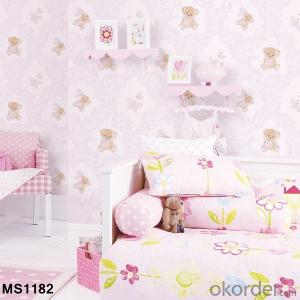 PVC Wallpaper Most Popular Promotional Silk Vinyl Wallpaper Hot Sale