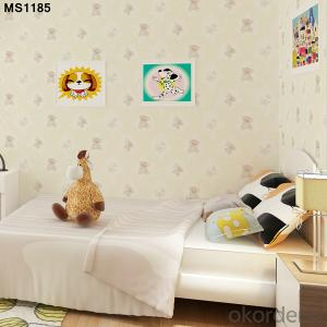 PVC Wallpaper Hot Sale Chinese Cheap Korean Vinyl Wallpaper for Home Adesivi Di Carta Da Parati