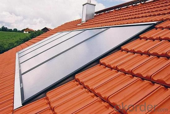 Flat Plate Solar Collector For Water Heater
