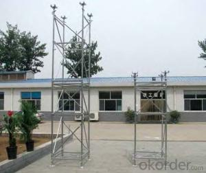 ID 15 Tower Scaffolding System with Hot Dip Galvanizing