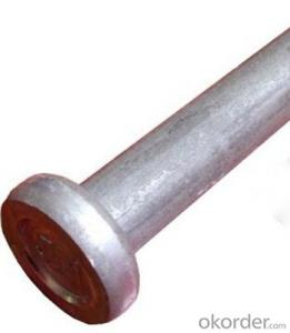 Arc stud welding shear connectors steel structure with welding machine