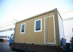 Steel Flat Pack Container House 20ft Size Container Cabin