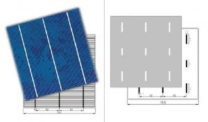 CNBM Polycrystalline Silicon Solar Cells156mm (16.00%—17.80%)