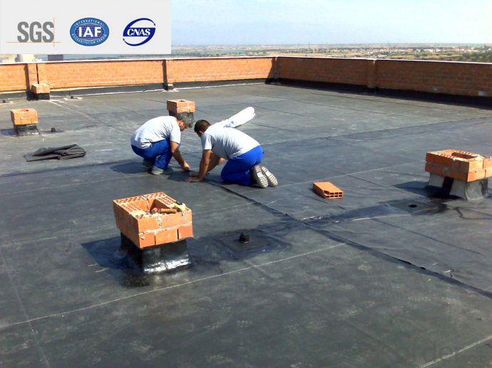 EPDM Self-adhesive Waterproof Membrane for Green Rooftop