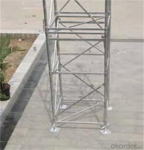 ID 15  Scaffolding System in Hot Dip Galvanizing