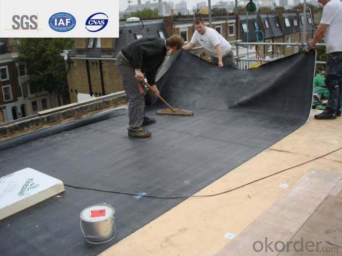 EPDM Self-adhesive Waterproof Membrane for Rooftop 1.5mm