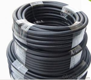 High Pressure Rubber Fuel  Hose Steel Layer