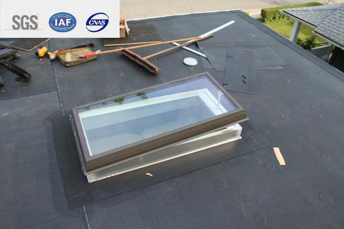 EPDM Self-adhesive Waterproof Membrane for Rooftop1.2mm