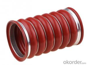 Rubber  Silicone Hose Colorable 1 Inch