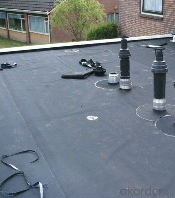 Buy epdm waterproof rubber membrane for roof basement pond for Rubber pond liner