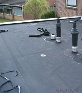 EPDM Waterproof Rubber Membrane for Roof Basement Pond Liner