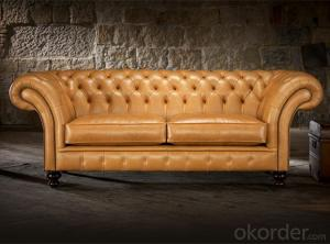 Grosvenor Chesterfield Sofa in Living Room