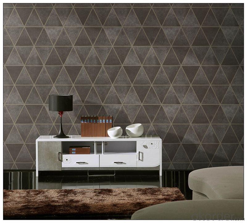 3d Wallpaper Modern Design Natural Material Animal Leather 3d Effect