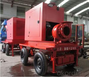 Mobile Trailer Type  Horizontal Axial/Mixed Flow Water Pump