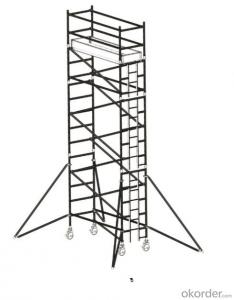 Aluminum Dubai Type Tower Scaffolding systems