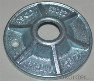 Formwork Parts Washer Plate made by Casting