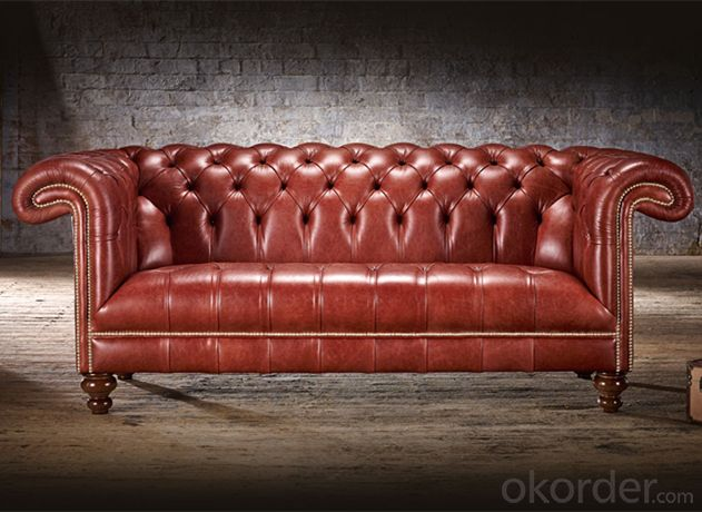 Connaught Chesterfield Sofa with High Quality Leather