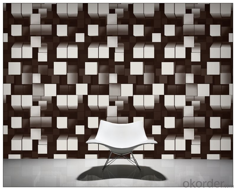 Buy 3d wallpaper pvc modern design 3d wallpapers for home for Home decor 3d wallpaper