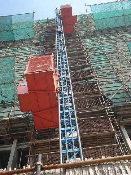 Construction Hoist SC100 with Single Cage Hoist