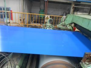 Pre-Painted Galvanized Steel Coil  Blue Color