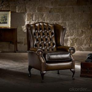 Classic Chesterfield Sofa with Various Leather