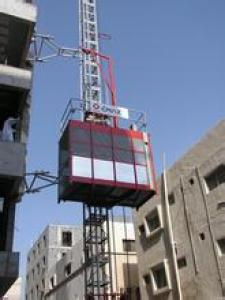 Construction Hoist SCD320/320 Two Cage Lfter