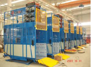 construction hoist max capacity  2000 kg