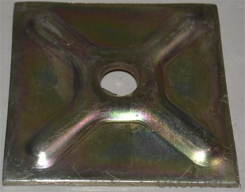 Formwork Parts Washer Plate made by Pressing