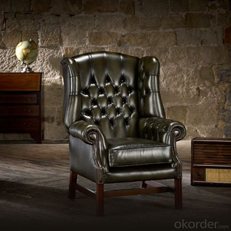 Georgian Chesterfield Chair in Luxurious House