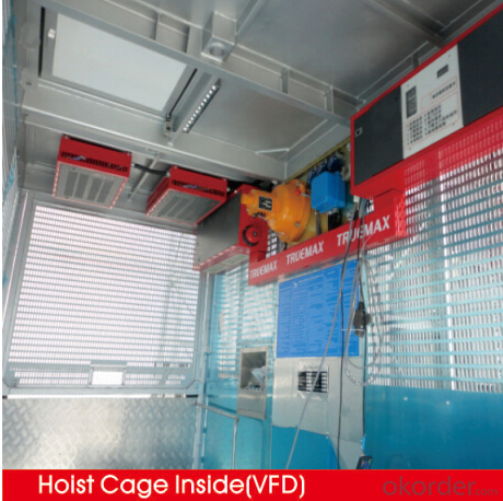 Construction Hoist  Branded Chinese Manufacturer