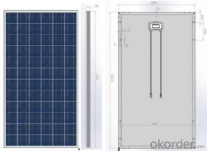 Mono Solar Module  156*156 PV module high performance