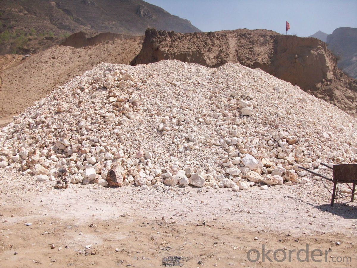 83% Rotary/ Shaft/ Round Kiln Alumina Calcined Bauxite Raw Material for Refractory