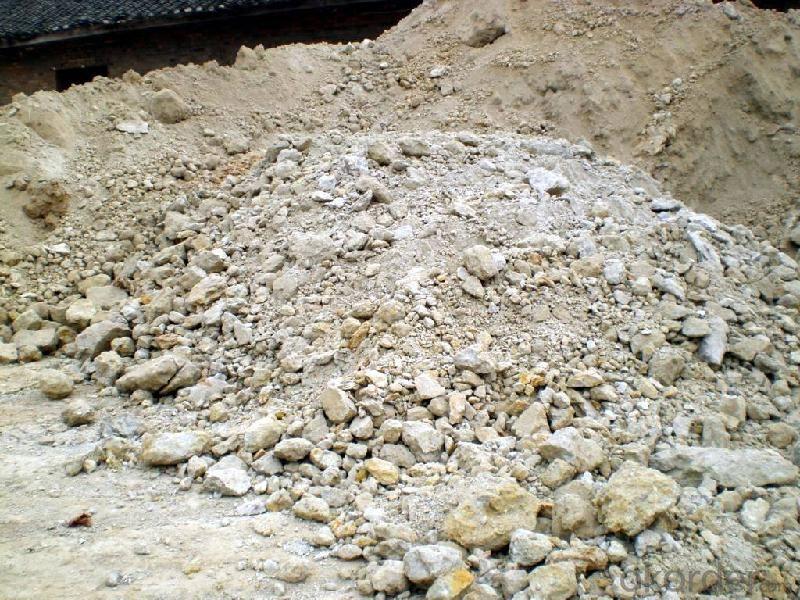 84% Shaft Kiln Alumina Calcined Bauxite Refractory Raw Material