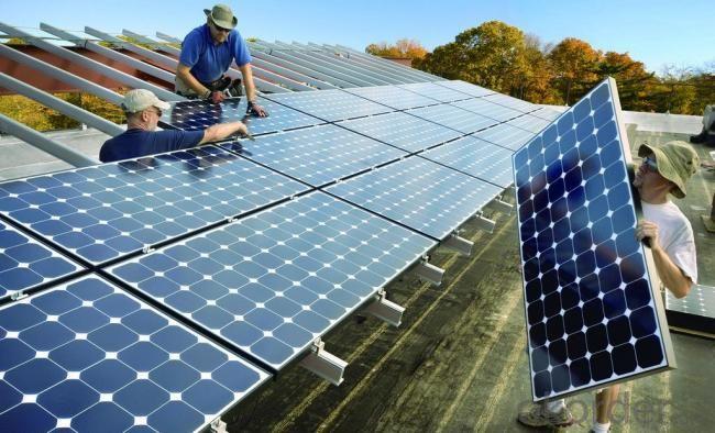 Solar Mounting Aluminum Rail Bracket Solar Module Panel