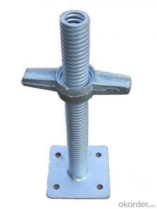 Base Jack Hollow for Scaffolding and Formwork System