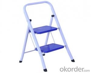 Steel Step Ladder with Folding Steps, Home Use