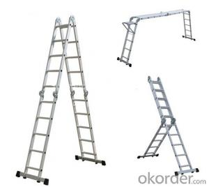 Aluminium Combination Ladder, Multiple Application