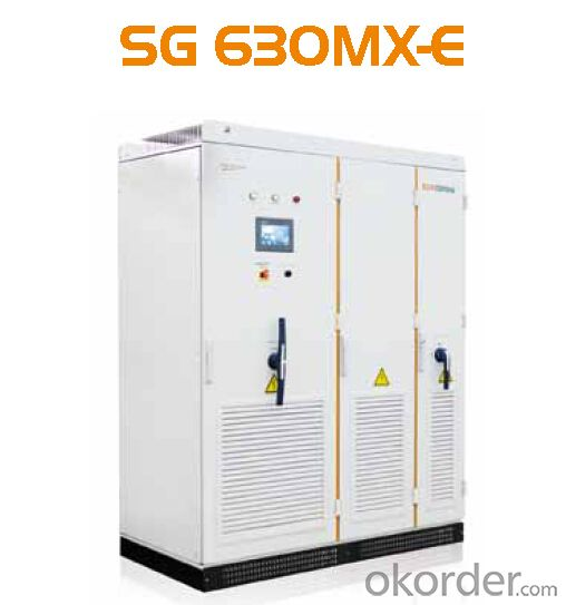 Photovoltaic Grid-Connected Inverter SG630MX-E Solar Inverter