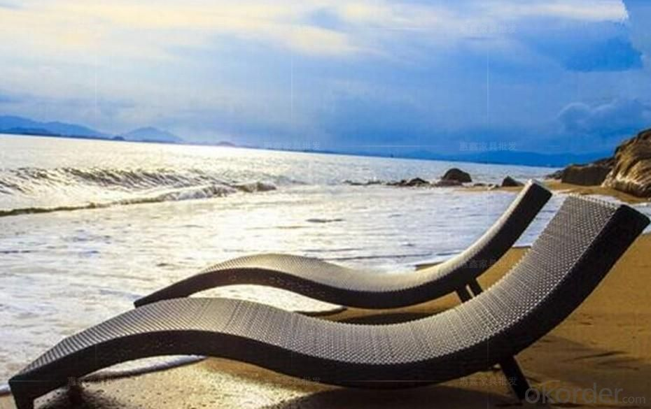 Sun lounger Wicker Lounger Rattan Lounger Outdoor Lounger