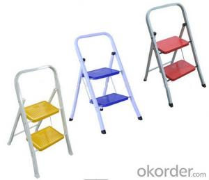 Steel Ladder with Folding Steps, Home Use