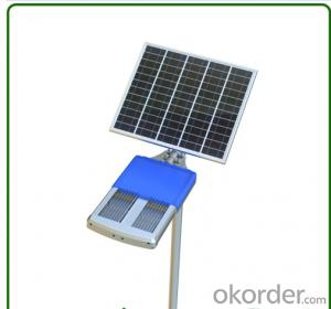 Solar Street LED Light 40W All In One Solar Street Light Environment Friendly