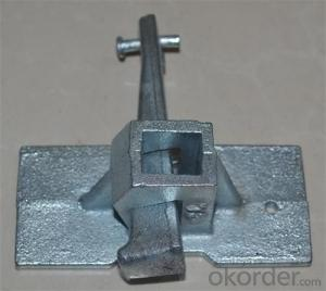Formwork Parts Rapid Clamp with Different Surface Treatment