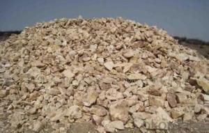 87% Rotary/ Shaft/ Round Kiln  Alumina Calcined Bauxite Refractory Raw Material