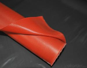 Fiberglass Fabric with Silicone Coated for Electric Insulation